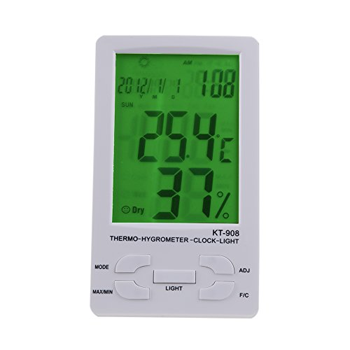 WinnerEco Indoor/ Outdoor Digital LCD Thermometer Hygrometer Temperature Humidity Met by WinnerEco (Image #1)