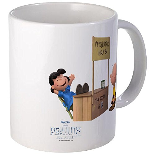 CafePress Charlie Brown And Lucy - Peanuts Movie Mug Unique Coffee Mug, Coffee Cup]()