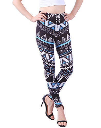 HDE Leggings Regular Fashion Stretch