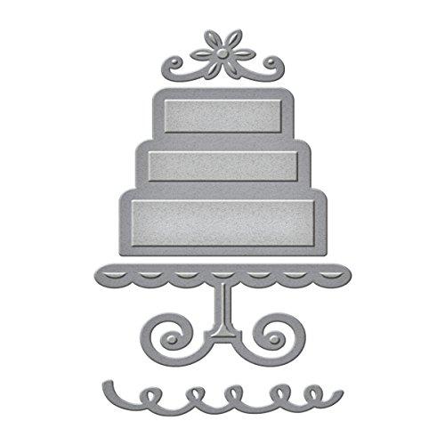(Spellbinders S1-006 Die D-Lites Layered Cake Etched/Wafer Thin Dies)