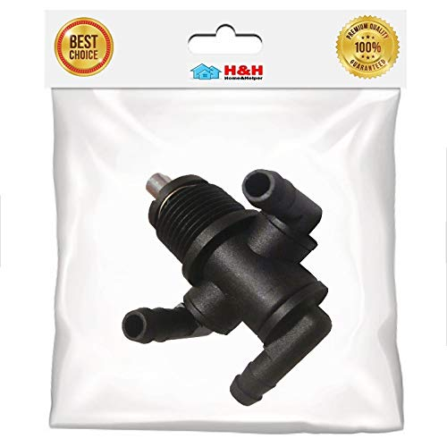 (H&H) New Three -Way Fuel Shutoff Valve for Polaris ATV - ATP 330/500, Trail Boss 325 330, Trail Blazer 330, Worker 335/500, Xplorer 500, Xpedition 325/425 and etc. (1pc)