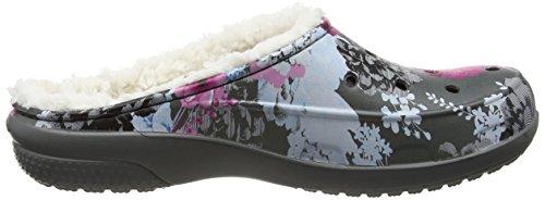 Donna Grey Multicolore Floral Fsailgrphlndclg Crocs Slate Zoccoli fqBnOEx6