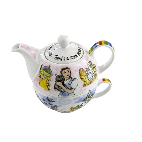 Hall Coffee Pot (Cardew Design Wizard of Oz Tea Set for One with 16-Ounce Pot and 10-Ounce)