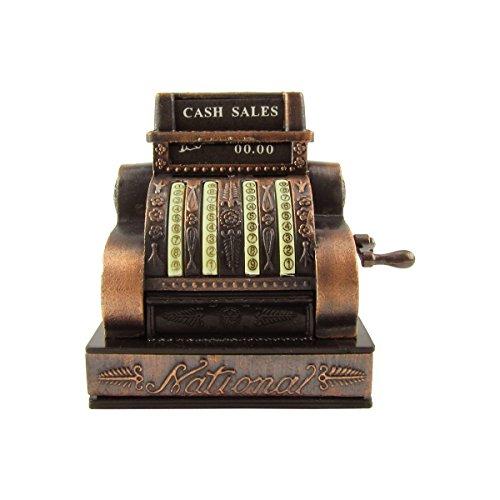 1:6 Scale Model Miniature Cash Register Diorama Accessory Metal Pencil Sharpener