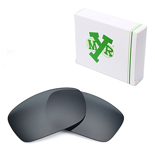 Mryok Polarized Replacement Lenses for Oakley Fives Squared - Black - Squared Oakley 5 Lenses