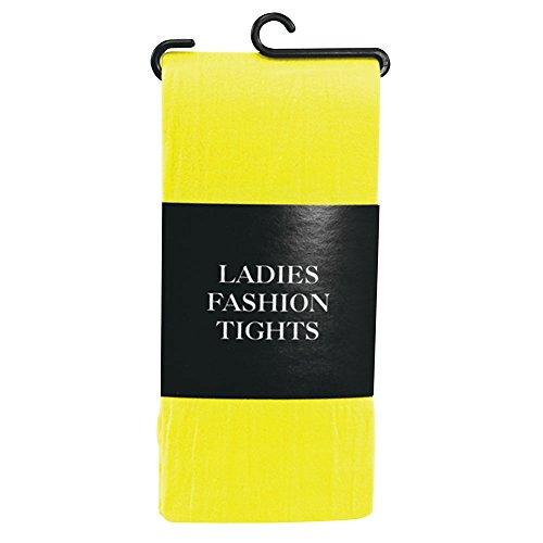 Bristol Novelty BA795 Tights Ladies Yellow, One Size