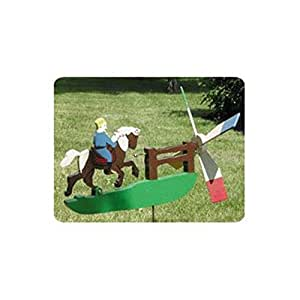 Woodworking Project Paper Plan to Build Galloping Horse Whirligig