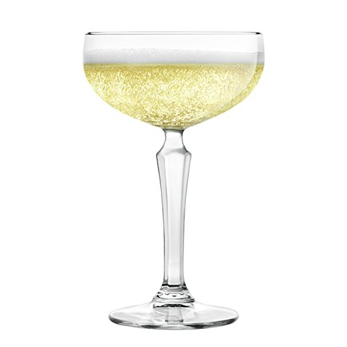 Libbey Capone Speakeasy Coupe Cocktail Glasses, Set of -