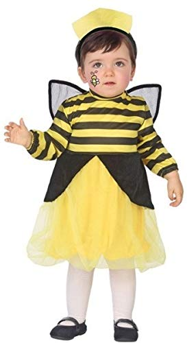 Baby Girls Bumble Bee Mini Beast Halloween World Book Day Fancy Dress Costume Outfit ... (12-24 Months) ()