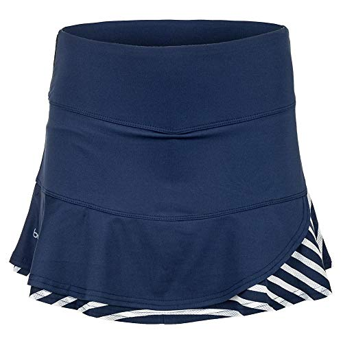 Bollé Women's Multi-layer Tennis Skirt With Shorts Inside, Navy, X-Small