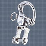 Wichard HR Snap Shackle - Clevis Pin Swivel