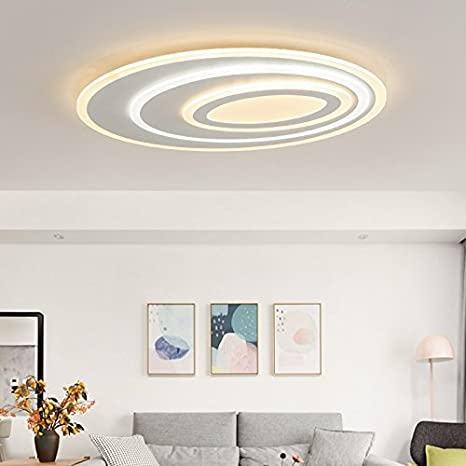 XZHXQ&KXMYT Lámpara De Techo De Acrílico Dormitorio Lámpara Led Lámpara De Techo Sala De Estar Estudio