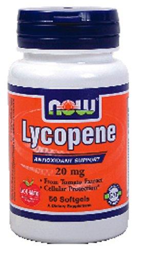 Now Foods Lycopene, 50 softgels / 20 mg ( Multi-Pack)