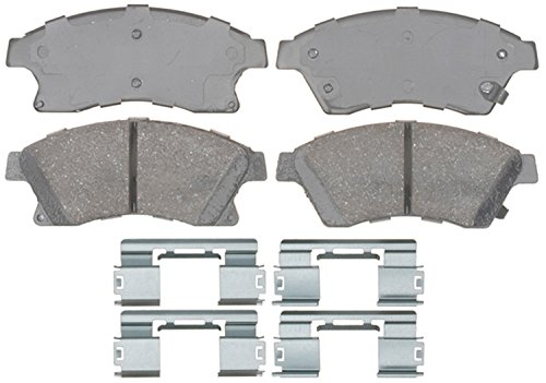 Front Disc Brake Parts (ACDelco 17D1522CH Professional Ceramic Front Disc Brake Pad Set)
