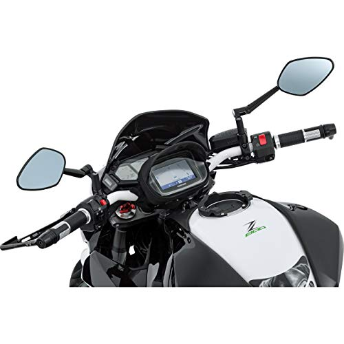 QBag Hecktasche Motorrad Motorradtasche Lenkertasche 01 für Navi/Smartphone, praktischer Blendschutz…