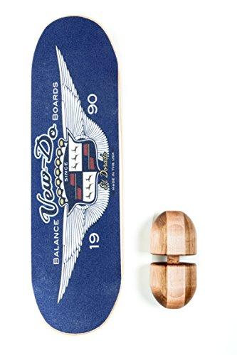 Vew-Do El Dorado Balance Board with Rock,  Blue by Vew-Do