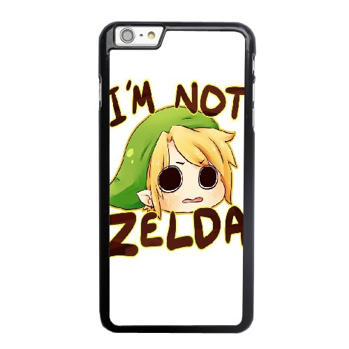 Coque,Coque iphone 6 6S 4.7 pouce Case Coque, Legend Of Zelda Link Chibi Cover For Coque iphone 6 6S 4.7 pouce Cell Phone Case Cover Noir