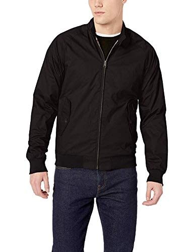 Ben Sherman Men's Harrington Jacket, Black XL