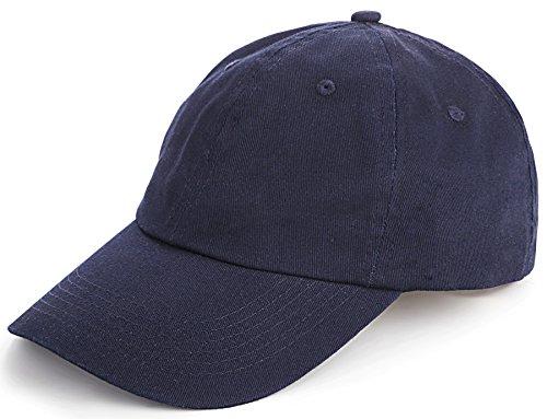 TARTINY Unisex Classic Plain 100% Cotton Baseball Cap,