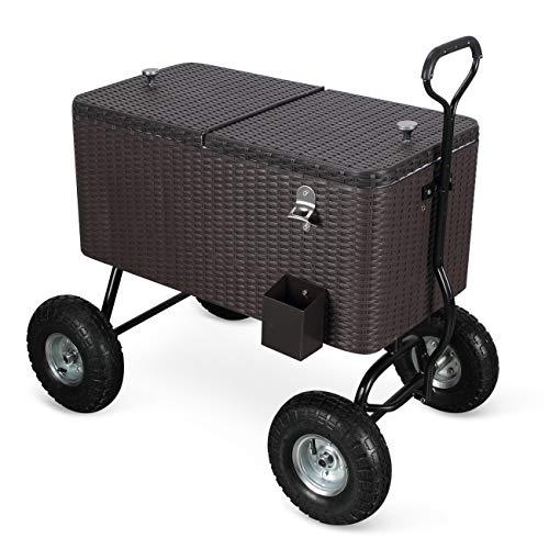 Belleze Portable Cooler Backyard Built