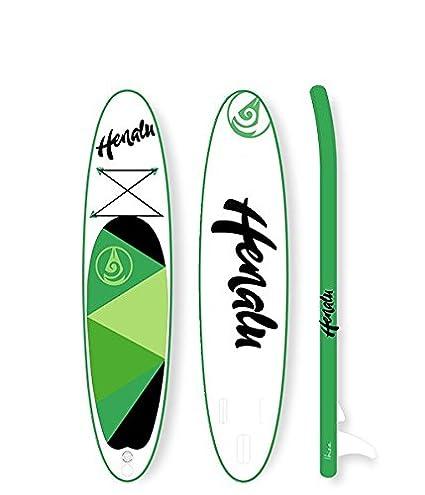 """HENALU Paddle Surf Hinchable - NELANI 9´9 x 30"""" x 6"""" Incluye"""