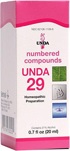 UNDA - UNDA 29 Numbered Compounds - Homeopathic Preparation - 0.7 fl oz (20 ml) ()