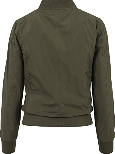 Light Ladies Bomber Classics Darkolive Blouson Jacket Urban Femme qTE7xnn