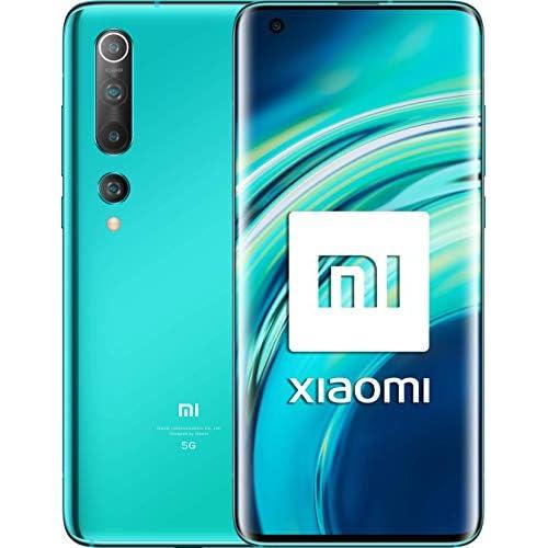 chollos oferta descuentos barato Xiaomi Mi 10 Pantalla FHD 6 67 8GB 128GB Camara de 108MP Snapdragon 865 5G 4780mah con carga 30W Android 10 Verde Versión española