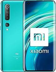 """Xiaomi Mi 10 16,9 cm (6.67"""") 8 GB 128 GB Dual SIM 5G USB Typ-C turkos 4780 mAh Mi 10, 16,9 cm (6.67 tum), 2340 x 1080 pixlar, 8 GB, 128 GB, 108 MP, turkos"""