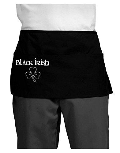 TooLoud Black Irish Dark Adult Mini Waist Apron - Black - One-Size
