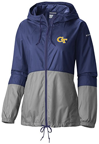 NCAA Georgia Tech Women's Flash Forward Windbreaker Jacket, Medium, (Georgia Tech Lady Jackets)