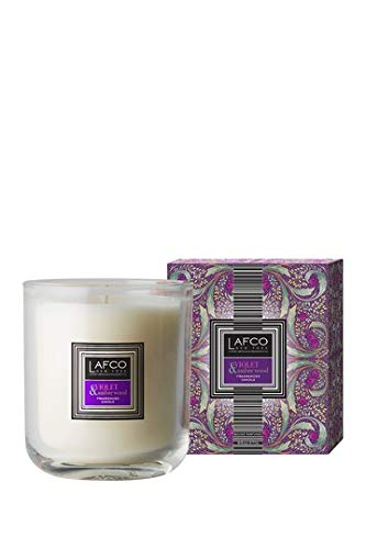 Violet and Amberwood Single Wick Candle 9.5 Oz Candle ()