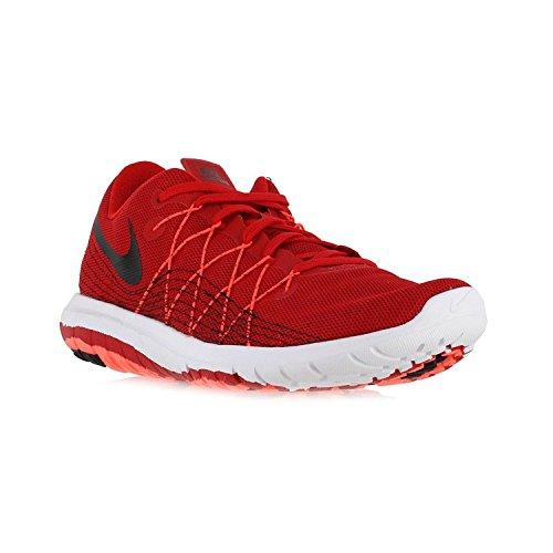 Nike Mens Flex Fury 2 Loopschoen Universiteit Rood / Totaal Crimson / Wit / Zwart