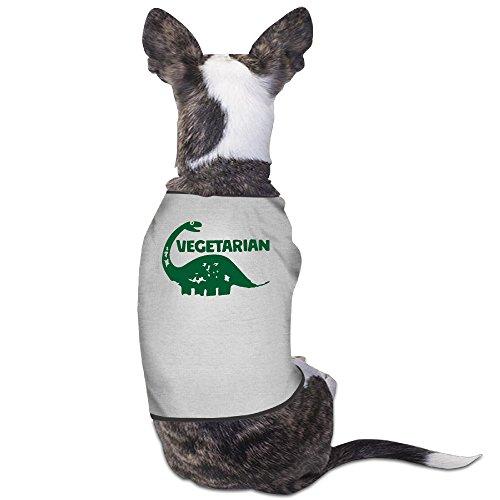 DOGGIE Vegetarian Dinosaur Dog Sweater Puppy Warm T-shirt ()