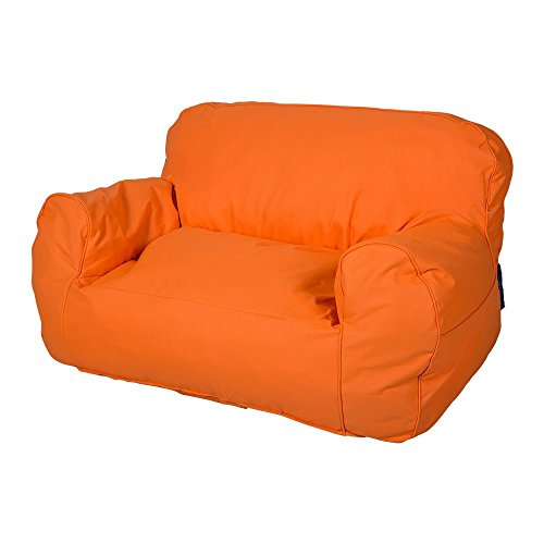 Livebest Soft Self-Rebound Sponge Double Kids Lounger Sofa Bean Bag Chair Seat Available for Boys and Girls,Bright Color by Livebest