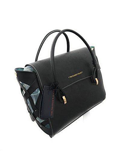 Borsa 75b0034399999 Dahlia Trussardi black Jeans Donna 2 Manici rnC4FwrOq