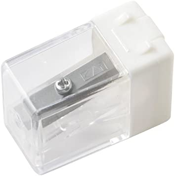 Muji Small White Pencil Sharpener Made IN Japan New 2013: Amazon.es: Oficina y papelería
