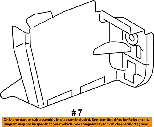 Amazon Com Mazda Oem 14 15 3 Radiator Core Support Lower Plate Left