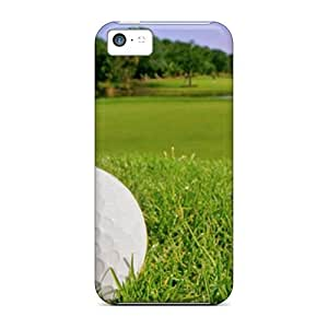 88caseme Perfect Cases For Iphone 5c/ Anti-scratch Protector Cases (golf Ball In Rough)