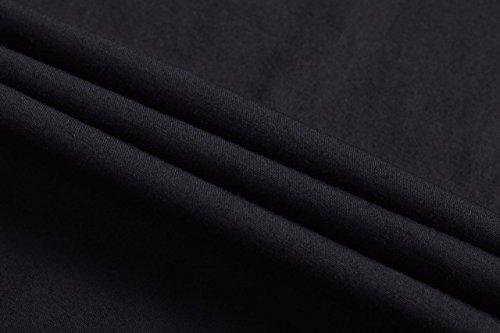 Slim Uomo Sportrendy Black jzs075 Corta Jzs055 Fashion Camicie Fit Tops Casual Men Shirts Moda Estate Manica 8qd4q