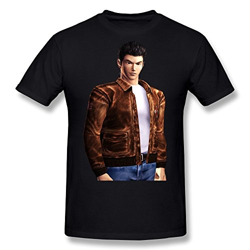 FENGTING Men's Shenmue 3 T-shirt M Black Tee