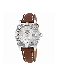 Breitling Galactic 36 Mother of Pearl Diamond Dial Unisex Watch A3733012-A717SS