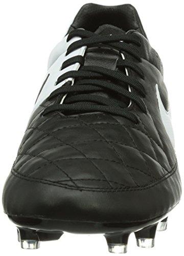 Nike Tiempo Legacy Fg Mens Scarpe Da Calcio Nere (nero / Bianco 010)
