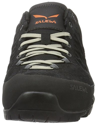 SALEWA Trektail-Bergschuh Herren, Scarpe da Arrampicata Uomo Nero (Black Out/Rusty Rock 0973)