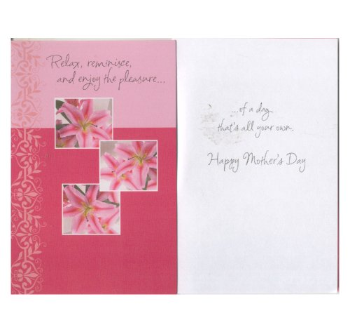 Tender thoughts greetings the best amazon price in savemoney mothers day greeting card tender thoughts collection m4hsunfo