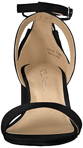 Black Julissa Suede Super CL by Dress Women's Laundry Sandal Chinese qHUAw0zI
