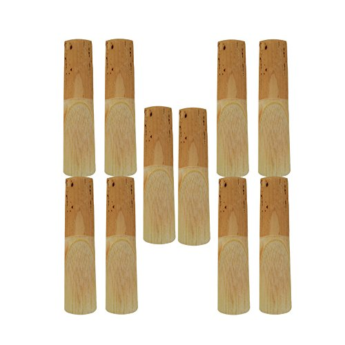 Yibuy 2.5 Strength Reed Tenor Sax Saxophone Reeds Pack of 10