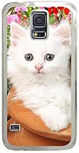 Animals & Birds Little-Sprouts Cases for Samsung Galaxy S5 I9600 with Transparent Skin