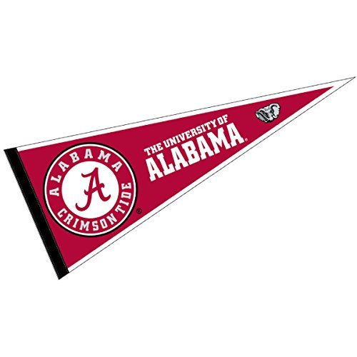 College Flags and Banners Co. Alabama Crimson Tide Pennant Full Size Felt