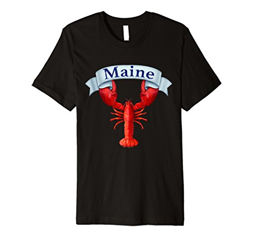 Lobster Maine State T Shirt